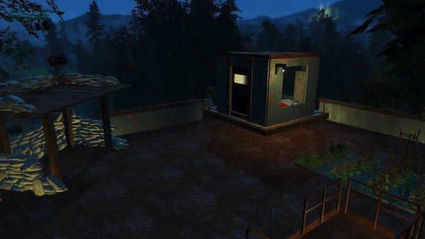 Огород на крыше нового поселения.  ;)