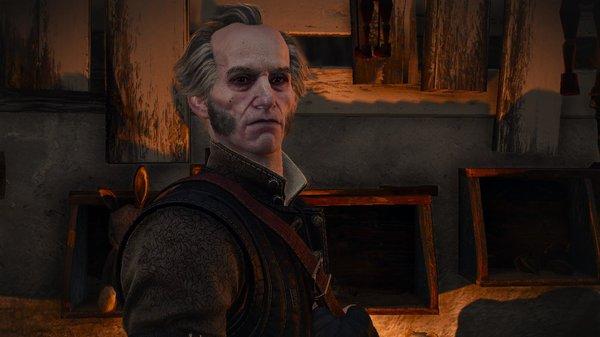 Друг Геральта - вампир Регис. Ведьмак III (сборка Торна)