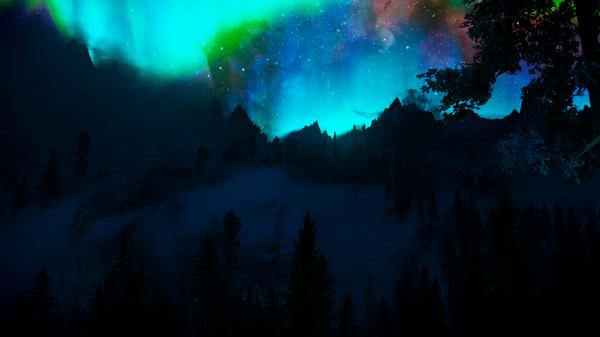 SkyrimSE - Ночь