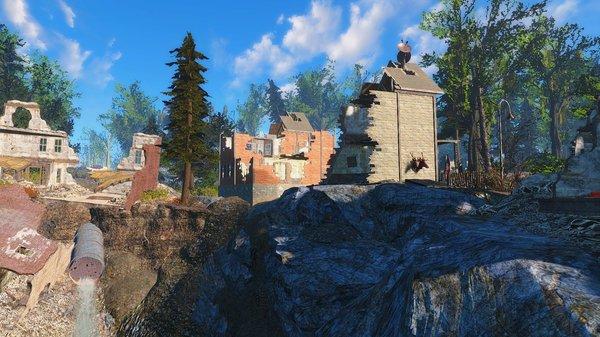 Район Старой глотки.. Fallout-4 (Сборка 6.4)