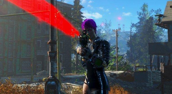 Прицельный выстрел.. Fallout-4 (Сборка 6.4)
