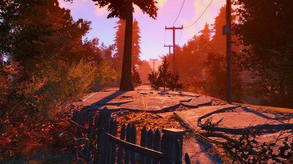 Вечерний пейзаж.. Fallout-4 (Сборка 6.4)