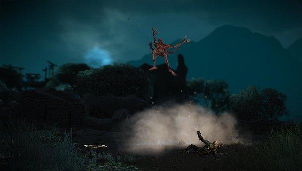 Аард.. Ведьмак III (сборка Торна)