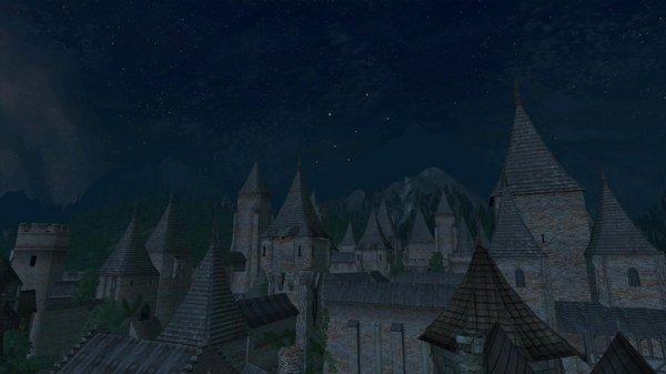 Город спит..
