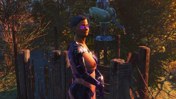 Поселенка на посту. Fallout-4 (Сборка 6.4)