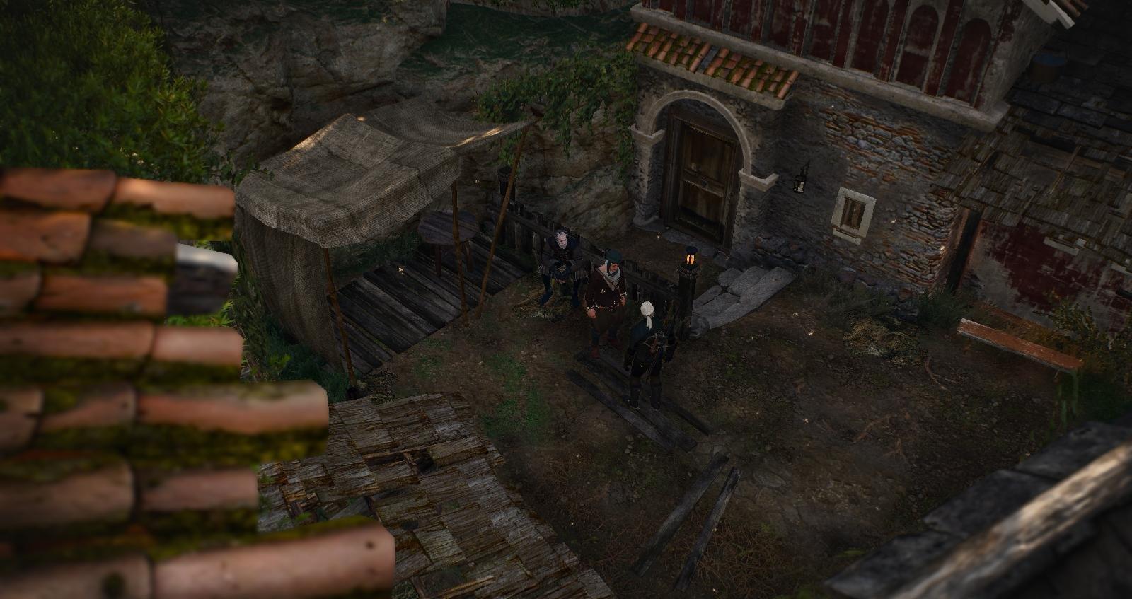 Бедный район.. Ведьмак III (сборка Торна)