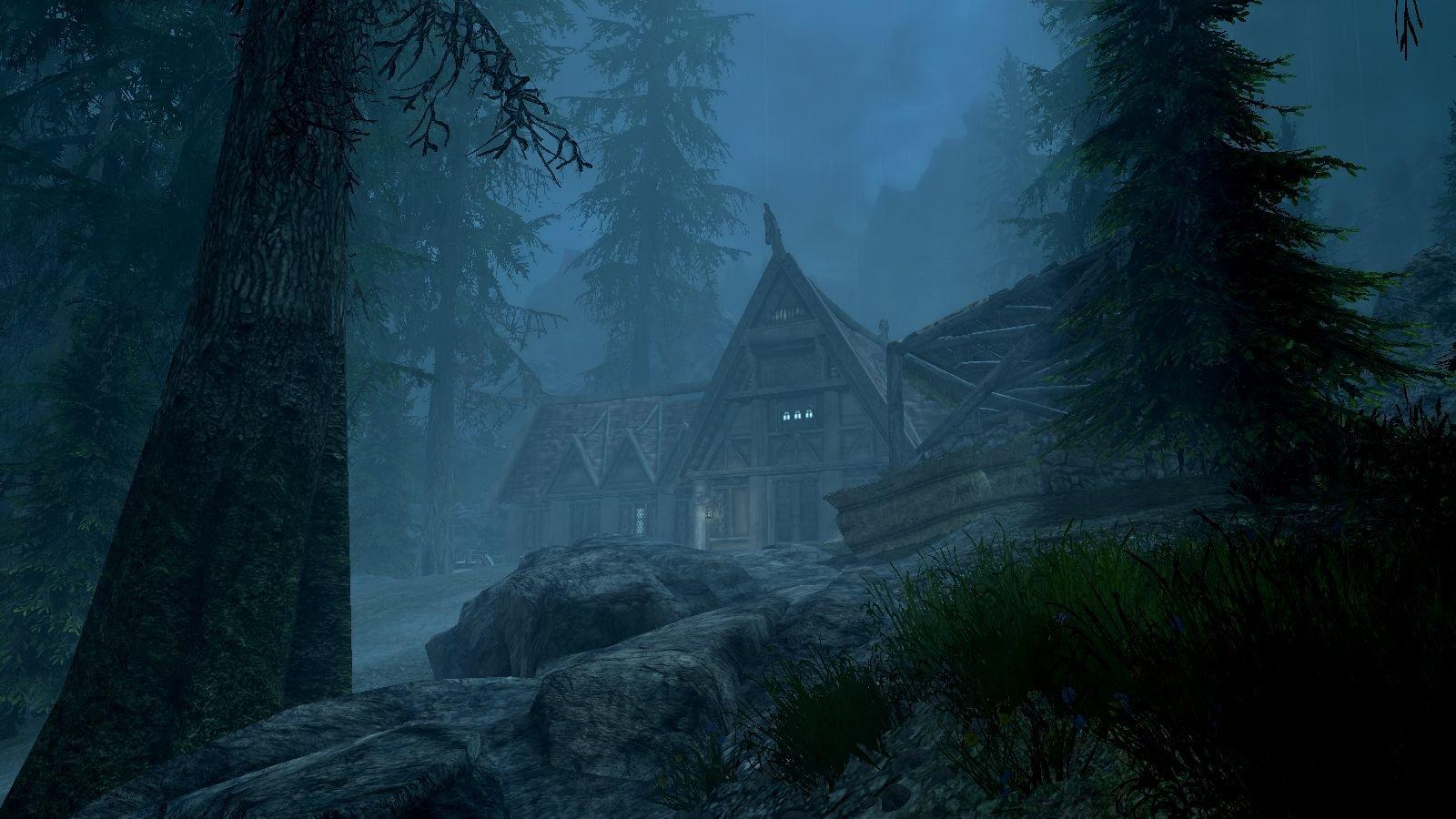 Ночь.. SkyrimSE (сборка 6.0)