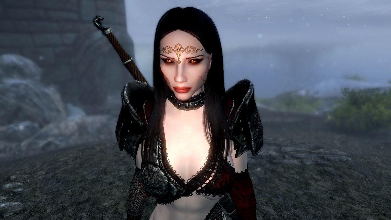 Вампирское очарование не спрятать за скромностью