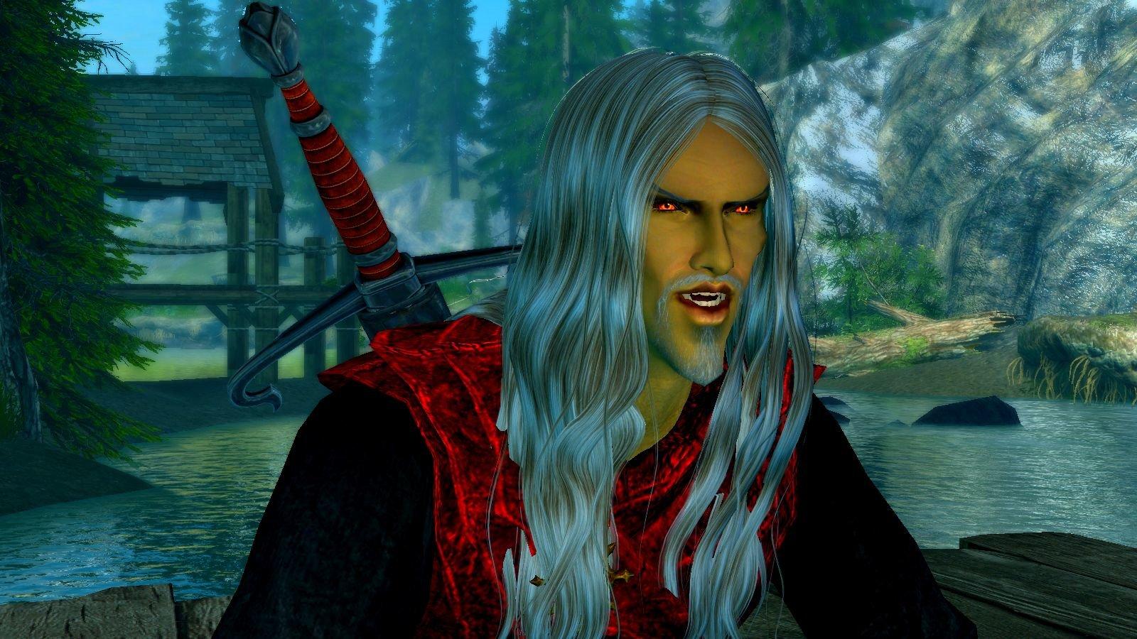 А вот и новый герой, и он - вампир.