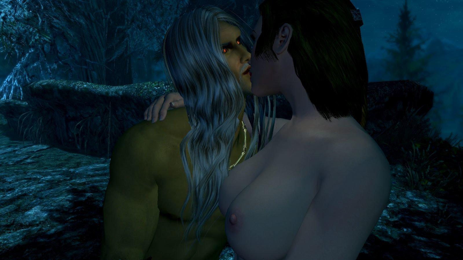 Поцелуй бессмертного.. SkyrimSE (сборка 6.0)