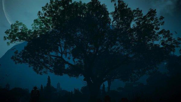Ночь.. Ведьмак III (сборка Торна)