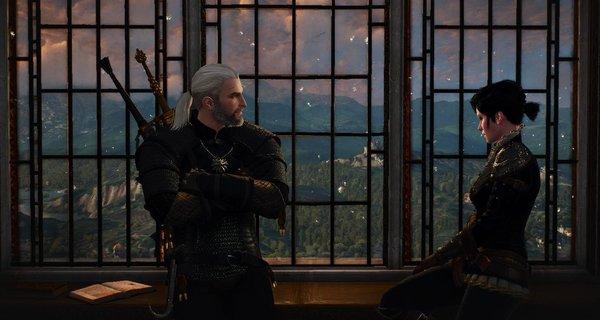 Геральт и Сианна.. Ведьмак III (сборка Торна)