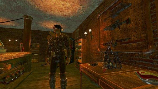 В магазине сувениров ;) Fallout-4 (Сборка 6.4)
