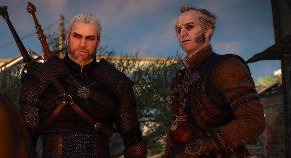 Геральт и Регис.. Ведьмак III (сборка Торна)