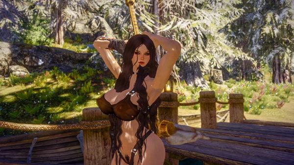 Cecilia pose 1