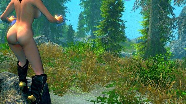 Пейзаж.. ;) SkyrimSE (сборка 6.0)