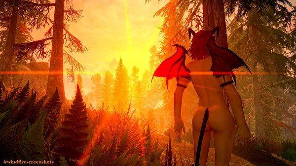 Где-то в лесах Фолкрита... SkyrimSE (сборка 6.0)