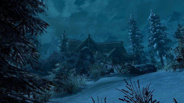 Ночная таверна.. SkyrimSE (сборка 6.0)