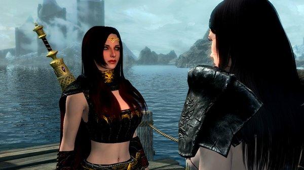 Серанка с Веленой.. SkyrimSE (сборка 6.0)