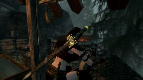 Точим меч.. SkyrimSE (сборка 6.0)