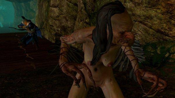 Баба-яга костяная рука ))) SkyrimSE (сборка 6.0)