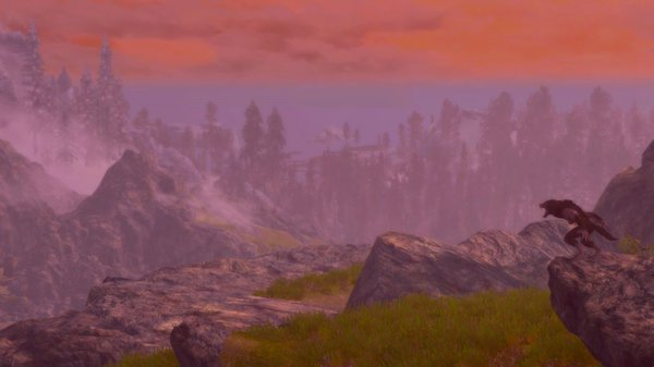 Сумеречный пейзаж.. SkyrimSE (сборка 6.0)