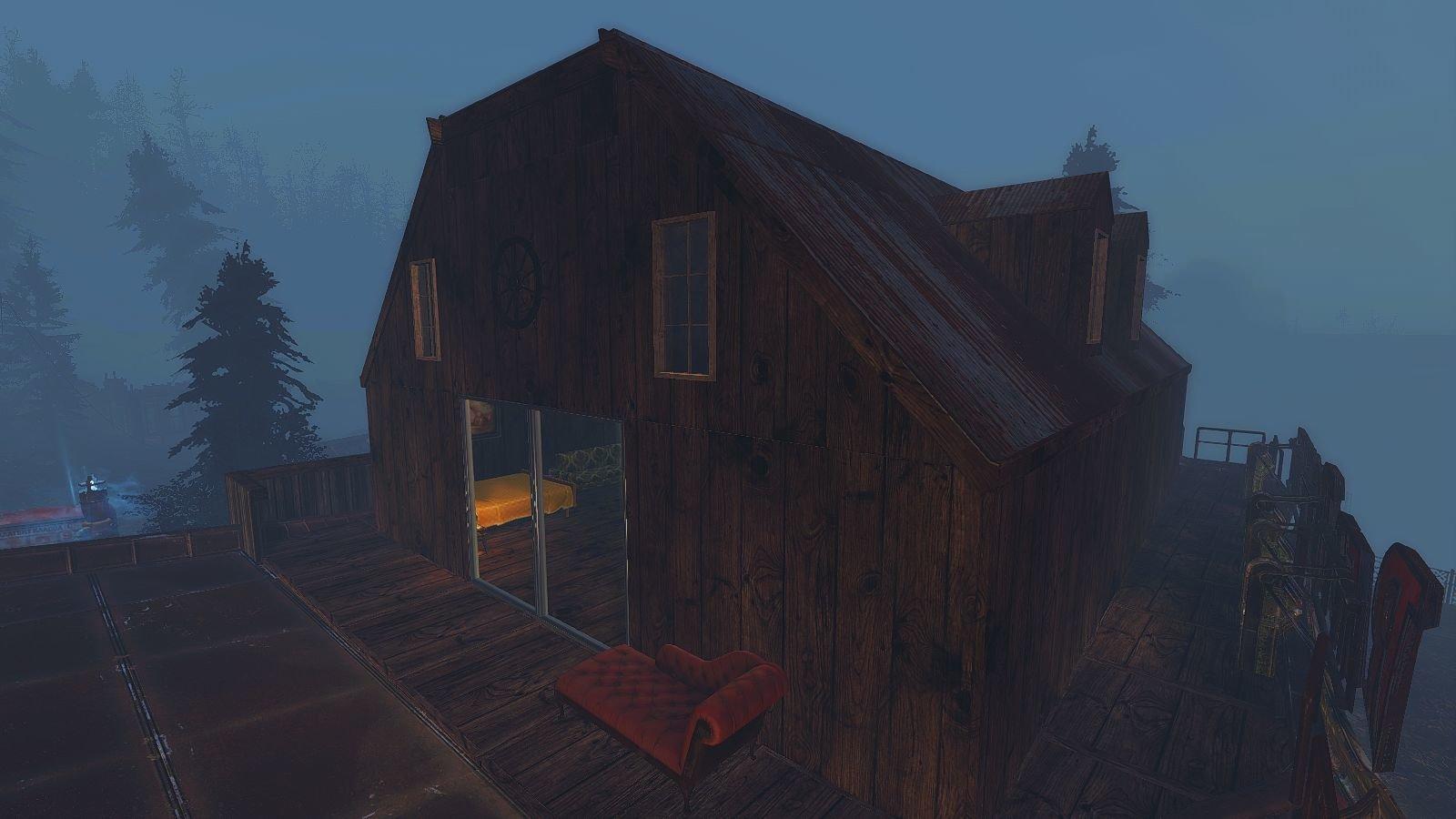 Дача на Фар Харборе.. Fallout-4 (Сборка 6.4)