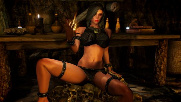 SkyrimSE - Ведьмочка