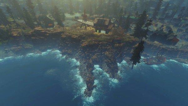 Береговая линия.. Fallout-4 (Сборка 6.5)