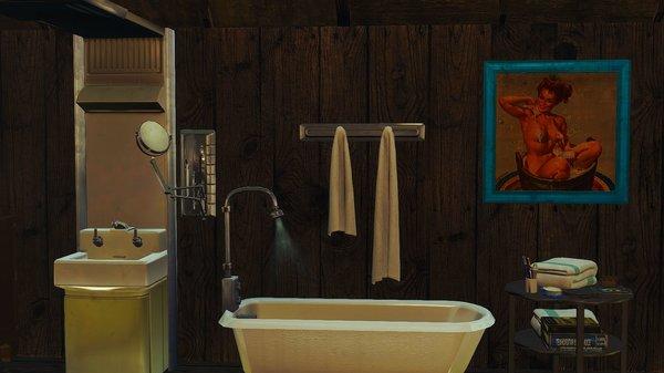 Ванна.. Fallout-4 (Сборка 6.4)