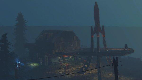 Red Rocket на Фар Харборе.. Poselenia Windfire