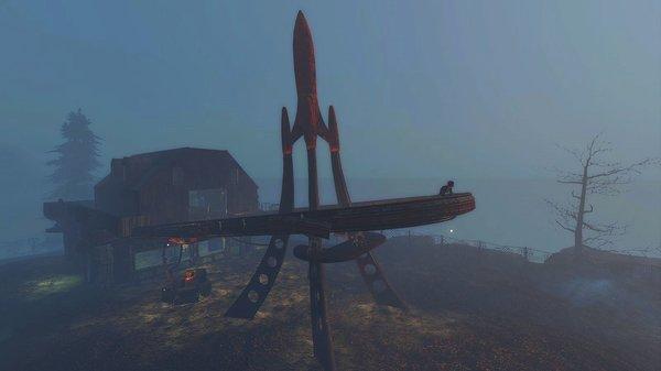 Ракета на Харборе.. Fallout-4