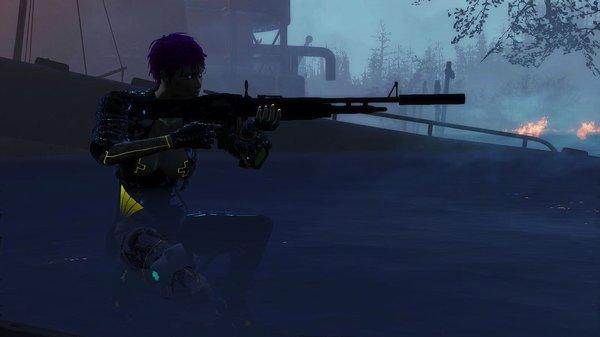 Действуем тихо! Fallout-4 (Сборка 6.4)