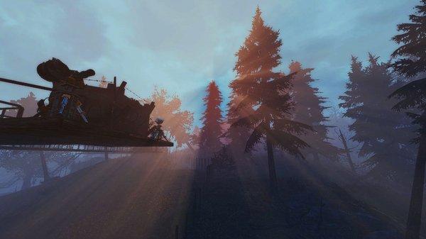 Строгий пейзаж.. Fallout-4 (Сборка 6.5)