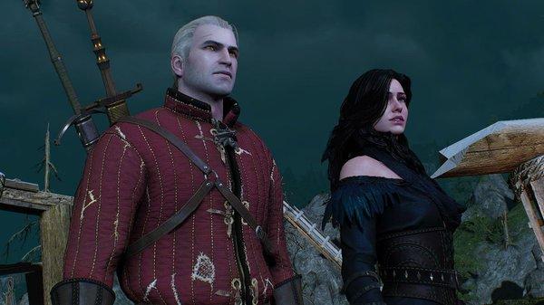 Геральт и Йенн.. Ведьмак III (сборка Торна)