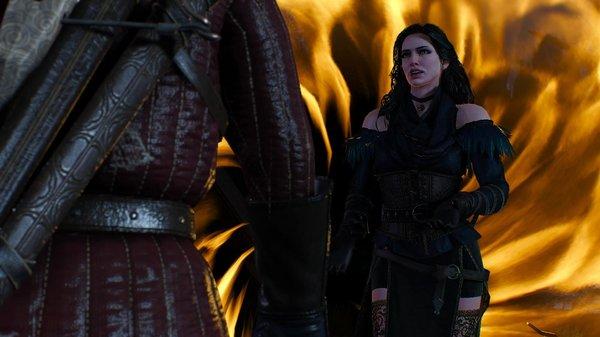Йенн: я уйду порталом.. Ведьмак III (сборка Торна)