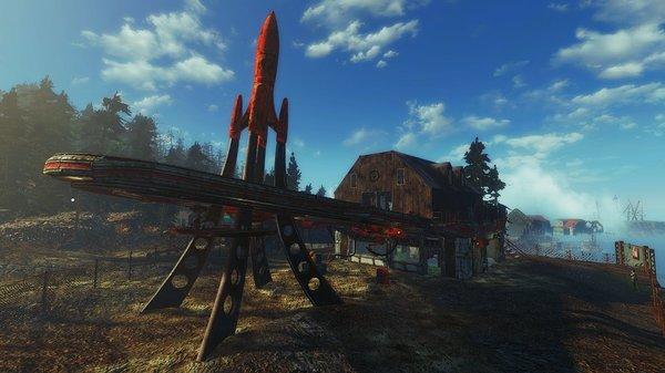Красная Ракета на Ф.Харборе.