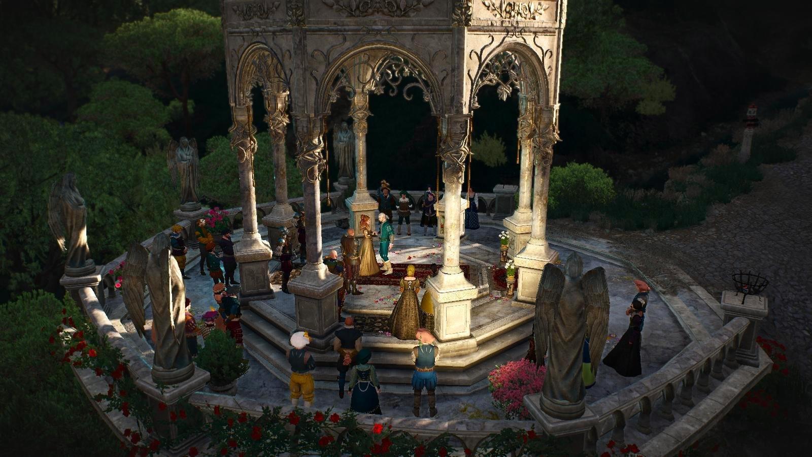 Прием у княгини.. Ведьмак III (сборка Торна)