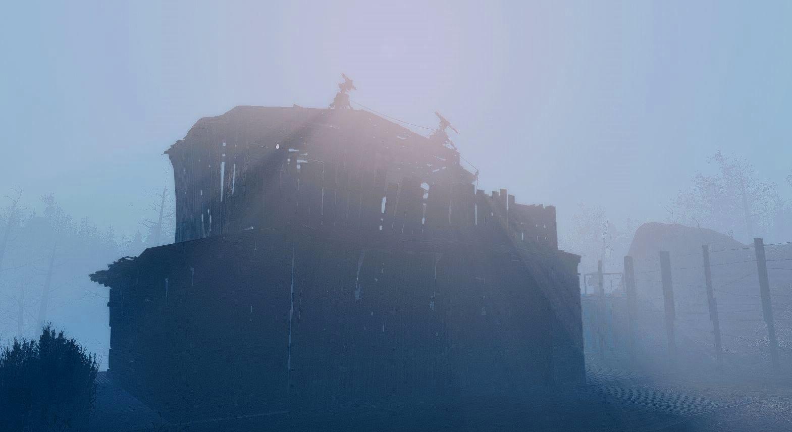 Туман.. Poselenia Windfire Fallout-4