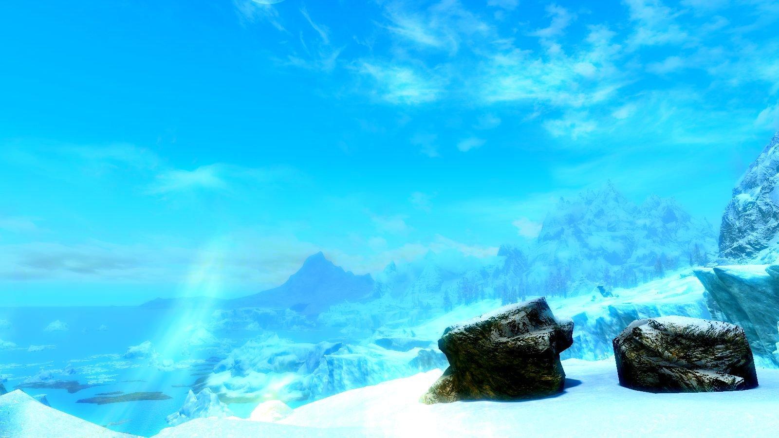 Голубая даль.. SkyrimSE (сборка 6.0)