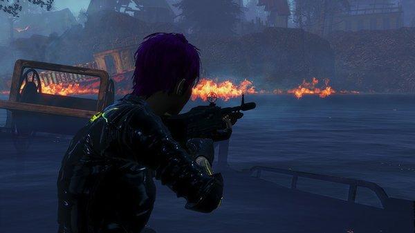 Топливо горит.. Fallout-4 (Сборка 6.5)