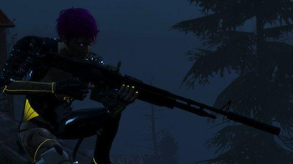 Ночной охотник.. Fallout-4 (Сборка 6.5)