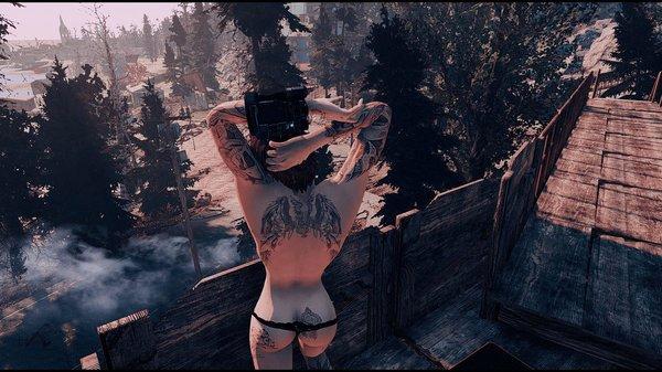 Татуировка. Fallout-4 (Сборка 6.5)