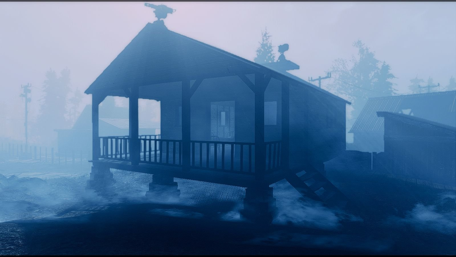 Туманно и безжизненно.. Fallout-4 (Сборка 6.5)