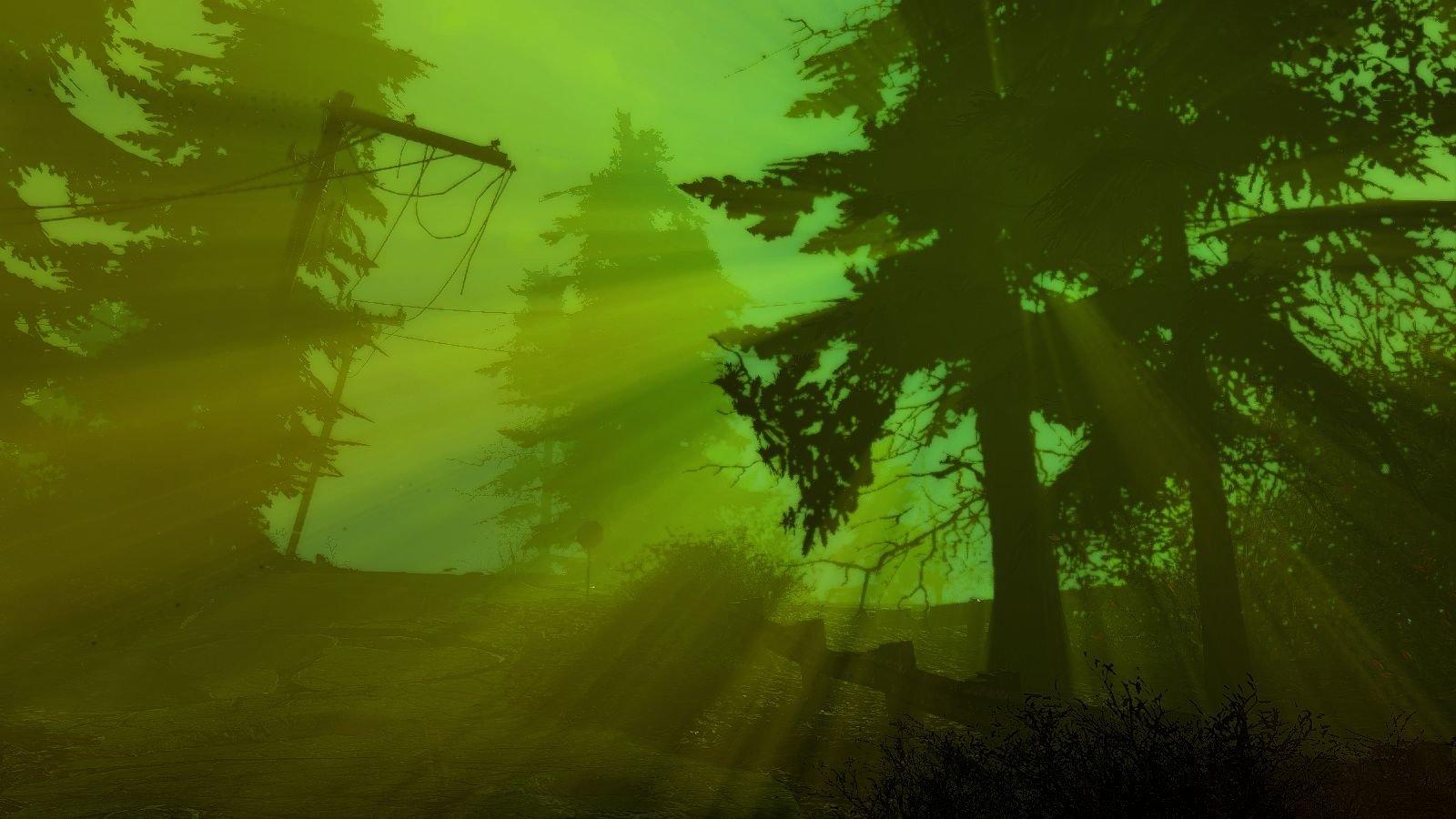 Радиактивный пейзаж.. Fallout-4 (Сборка 6.5)