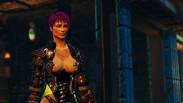 Ева на Ф.Харборе.. Fallout-4 (Сборка 6.5)