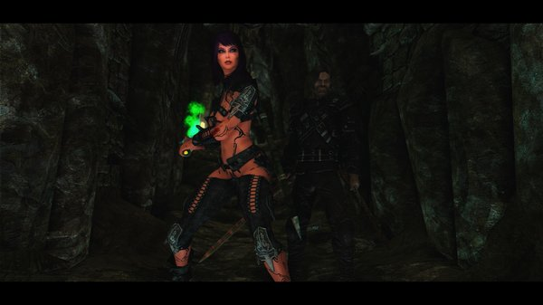Drakosha, Pussyta and others in Skyrim