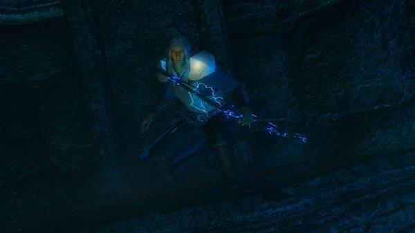 Вампир в тенях двемерских руин..