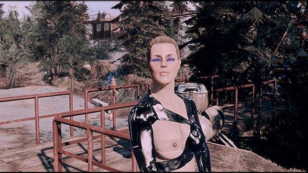Стражница на посту.. Fallout-4 (Сборка 6.5)