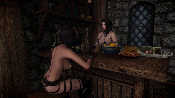 Лидка - дежурная по кухне